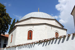 Mausoleum of tatar khan. Ancient mausoleum at tatar khan palace, Crimea Royalty Free Stock Photography