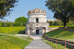 Mausoleum of Theoderic in Ravenna Stock Photo