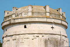 Mausoleum of Theodoric in Ravenna Stock Image