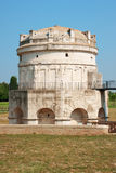 Mausoleum of Theodoric in Ravenna stock image