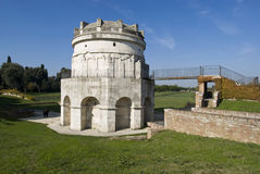 Mausoleum of Theodoric. Ravenna, Italy Stock Images