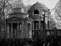 Mausoleum and tomb. Royalty Free Stock Photos