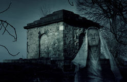 Mausoleum Tomb Ghost Royalty Free Stock Photos