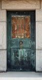 Mausoleum-Tür Lizenzfreies Stockbild