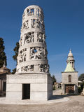Mausoleum van Antonio Bernocchi Stock Foto
