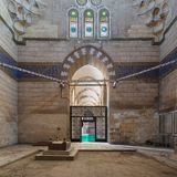 Mausoleum van de vrouw en de dochters van Sultan Al Zaher Barquq bij het complexe complex van Al Nasr Farag Ibn Barquq, Kaïro, Eg Royalty-vrije Stock Afbeeldingen