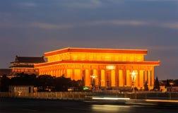 Mausoleum van Mao Zedong Stock Foto's