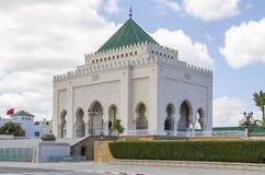 Mausoleum van Mohammed V Royalty-vrije Stock Afbeeldingen