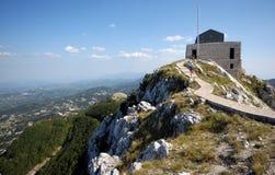 Mausoleum van Petar Petrovic Njegos Stock Foto's