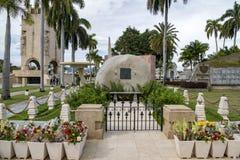 Mausoleum von Fidel Castro, Santiago de Cuba lizenzfreie stockfotografie