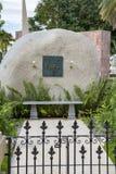 Mausoleum von Fidel Castro, Santiago de Cuba stockfoto
