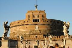 Mausoleum von Hadrian Lizenzfreie Stockfotos