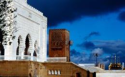 Mausoleum von Mohamed V Stockfotos