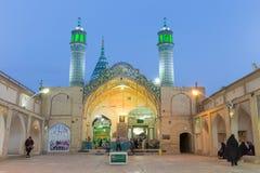 Mausoleum von Sultan Amir Ahmad, in Kashan lizenzfreies stockfoto