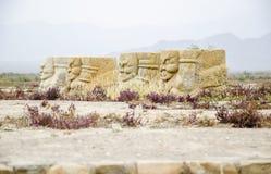 Mausoleum von Xixia-Dynastie West-Xia Mausoleum Lizenzfreie Stockbilder