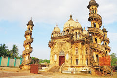 Mausoleum of the Wazir of Junagadh, Mohabbat Maqbara Palace juna. This delightful spiral staircase building that was once home to the Nawabs of Junagadh. Its Royalty Free Stock Photography