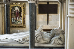 Mausoleum in York Minster, UK Royalty Free Stock Photos