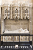 Mausoleum in York Minster, UK Royalty Free Stock Image