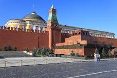 mausoleummoscow röd russia fyrkant Royaltyfri Bild