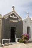 Mausoleums cemetery bonifacio corsica Stock Photos