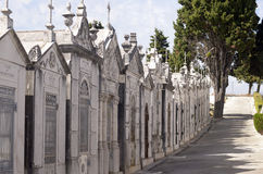 Mausoleums Lane, Religion, Death, Cemetery Royalty Free Stock Photo