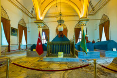 Mausoleums of Osman, the founder of the Ottoman Empire Stock Images
