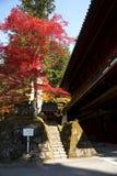 Mausoleums of the Tokugawa Shoguns Royalty Free Stock Images