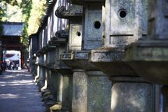 Mausoleums of the Tokugawa Shoguns Royalty Free Stock Photos