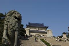 mausoleumsen sun yat Royaltyfri Bild