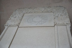 mausoleumsen sun yat Arkivfoto