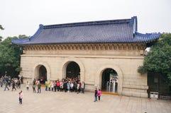 mausoleumsen sun yat Royaltyfria Bilder