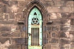 Mausoleumstür Lizenzfreies Stockbild