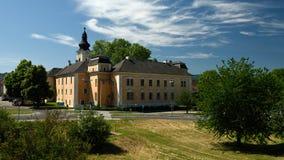 Mautern un castillo de Donau del der, Wachau, Austria Foto de archivo