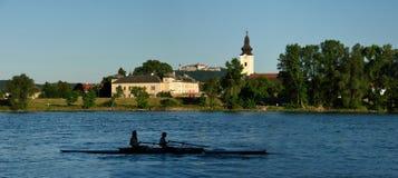 Mautern un der Donau, Wachau, Austria Foto de archivo libre de regalías