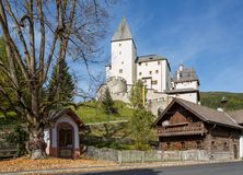 Mauterndorf castle, Austria stock photography
