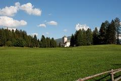 mauterndorf de château de beautifulmeadows médiéval Photo libre de droits