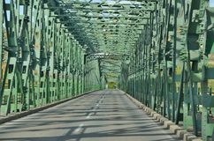 Mauterner Bridge on the River Danube. Austria Stock Images