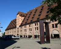 Mauthalle (historic Customs House) in Nuremberg, Germany Stock Photo