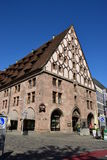 Mauthalle (historic Customs House) in Nuremberg, Germany Royalty Free Stock Photography