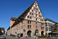 Mauthalle (historic Customs House) in Nuremberg, Germany Stock Images