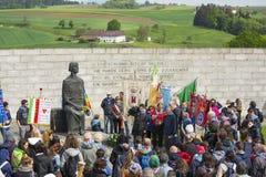 Mauthausen camp Stock Image