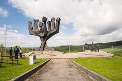 Mauthausen camp Royalty Free Stock Photography