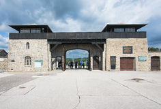 Mauthausen camp Royalty Free Stock Images