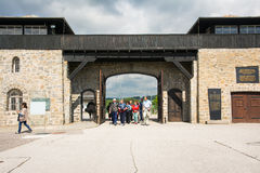 Mauthausen camp Stock Images