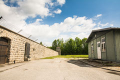 Mauthausen camp Stock Photography