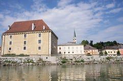 Mauthausen kasztel zdjęcie royalty free