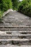 Mauthausen - la scala della morte (Austria) Immagine Stock