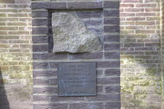 Mauthausen minnesmärke Arkivbilder