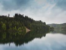 Mauthaustalsperre - Kronach, Germania fotografia stock