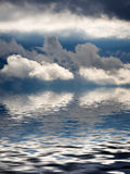 mauvais beau temps Image libre de droits